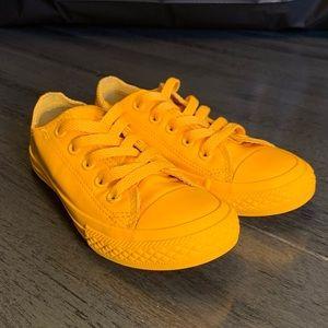 All Yellow Kids Converse - SZ 12